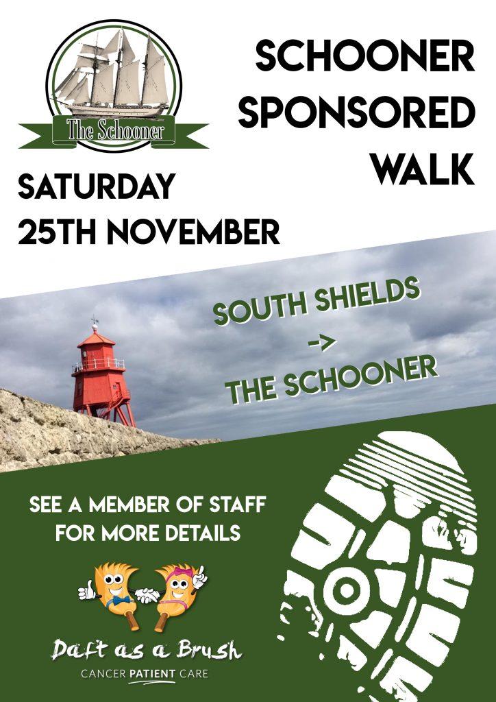 Sposored Walk Poster